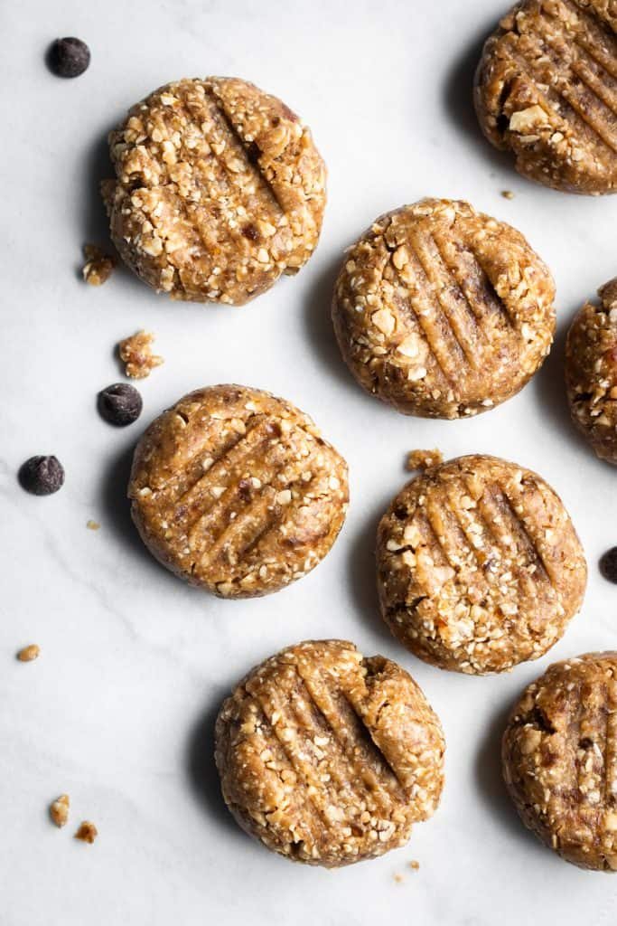 peanut butter cookies from the top