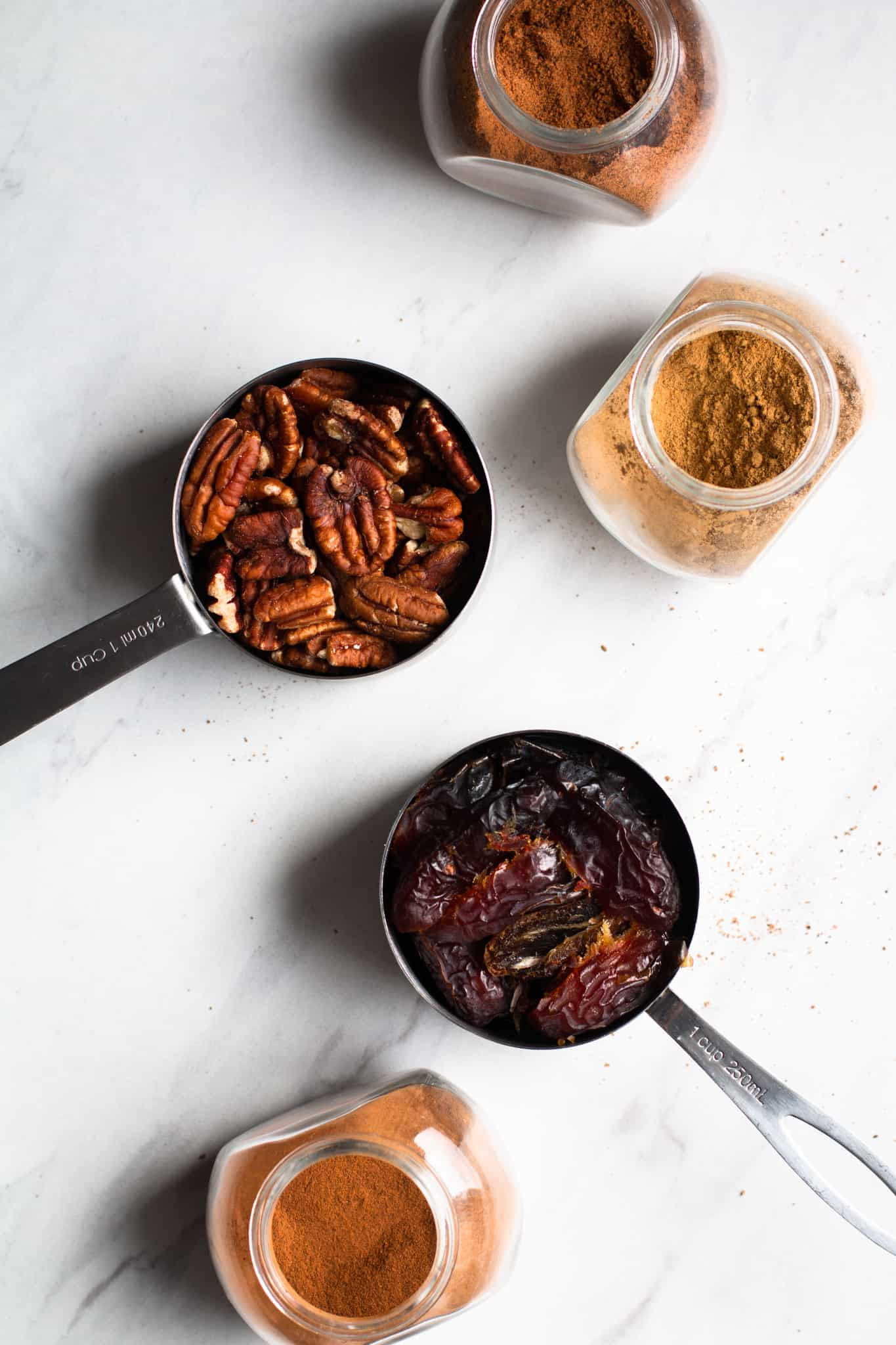 dates, spices and pecans