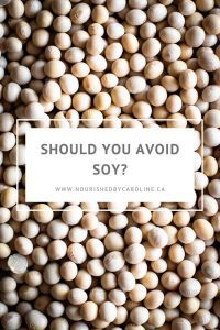 Should you avoid soy pin