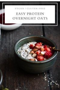 easy protein overnight oats pin